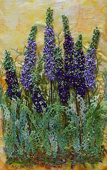 Ana Sumner - Blossoms of Purple
