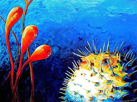 Blow Fish by Gregory Merlin Brown