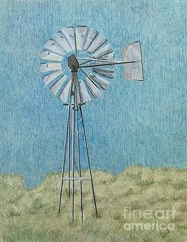 Blowin' in the Wind by Glenda Zuckerman