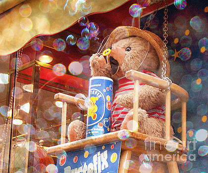Blowing Bubbles by Victoria Harrington