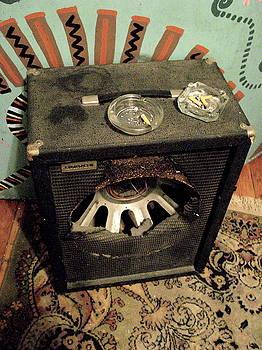 Blown Burnt Speaker by Derrick Anderson