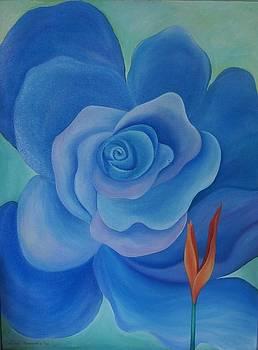 Blue 1 by Lorna Diwata Fernandez