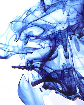 Kathleen Prince - Blue Abstract #1