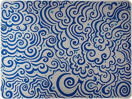 Mandy Shupp - Blue Abstract
