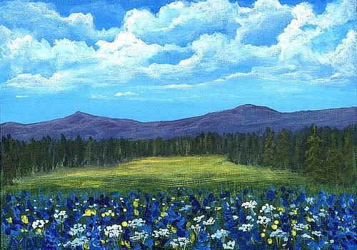 Blue Afternoon by Anastasiya Malakhova