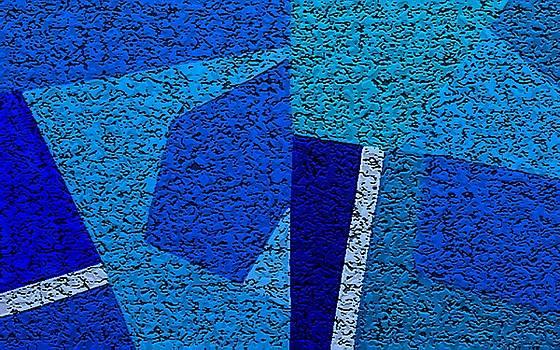 Blue Alert Grande Three by Dick Sauer