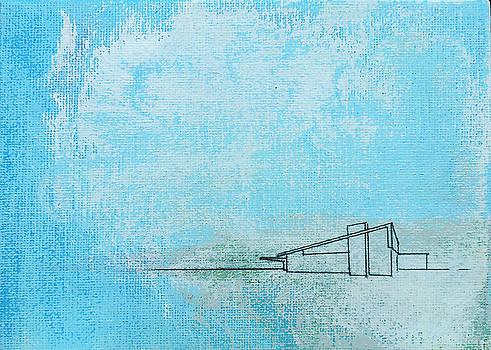 Stan  Magnan - Blue Alexander White Mist