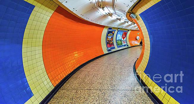 Svetlana Sewell - Blue and Orange Tunnel