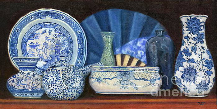 Blue and White Porcelain Ware by Marlene Book