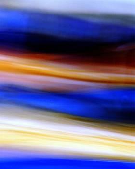 Karin Kohlmeier - Blue and Yellow Abstract