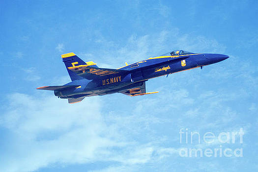 Blue Angel #5 in Arizona by Bob Hislop