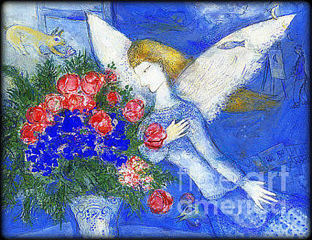Marc Chagall - Blue Angel