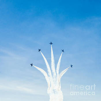 Blue Angel Signature Break-away by Jim DeLillo