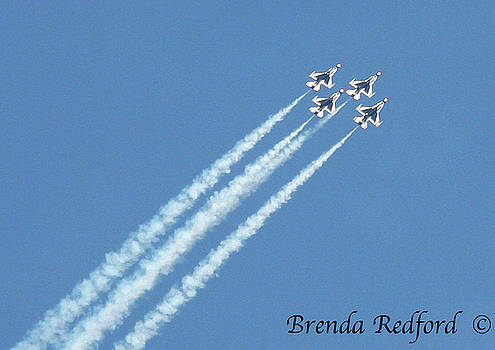 Blue Angels by Brenda Redford