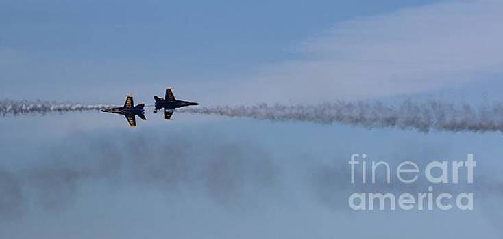 Blue Angels Meeting Again by Tony Lee