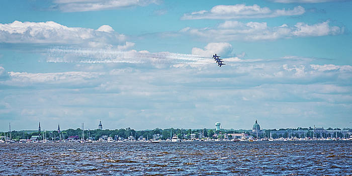 Blue Angels Over Annapolis 2018 by Dale Hall