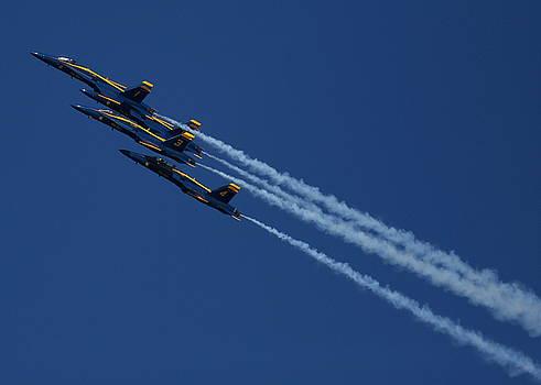 John King - Blue Angels over San Francisco Bay
