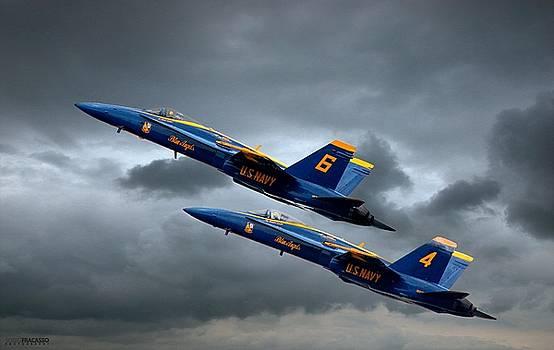 Blue Angels by Scott Fracasso