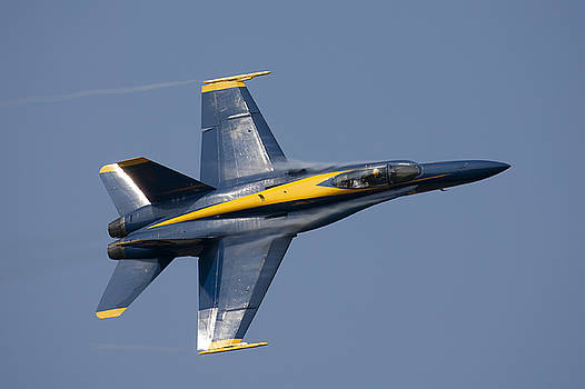Blue Angels Solo fly-by by John Clark