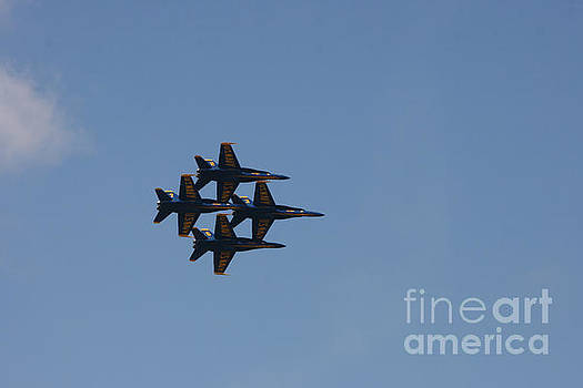 Blue Angles formation by Lori Amway
