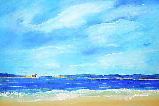 Blue Bay by Dick Bourgault