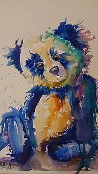 Blue Bear by Kathy  Karas