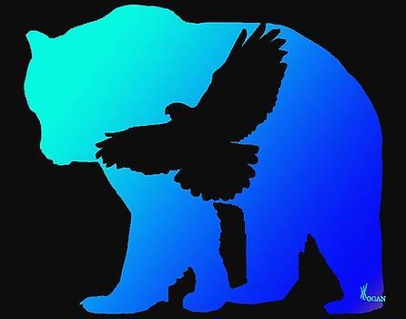 Blue Bear by Will Logan