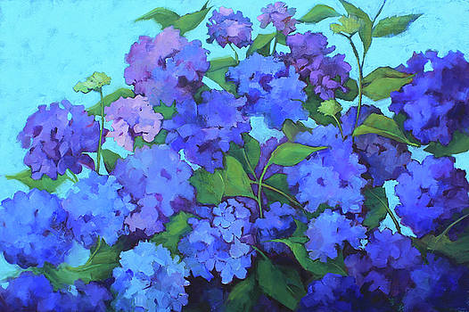Blue Beauties by Sue Dragoo Lembo