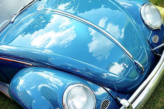 Sky Blue Beetle by Nate Heldman