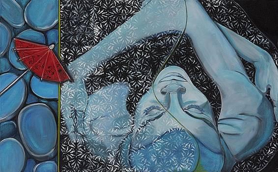 Blue Being by Darlene Graeser