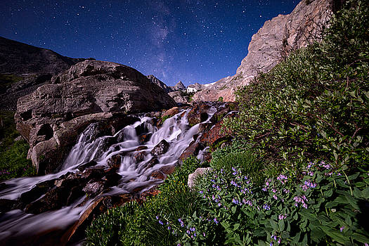 Blue Bell Falls by Mike Berenson