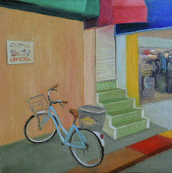 Blue Bike by Amy Tennant