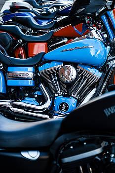 Blue Bike by Tony Reddington