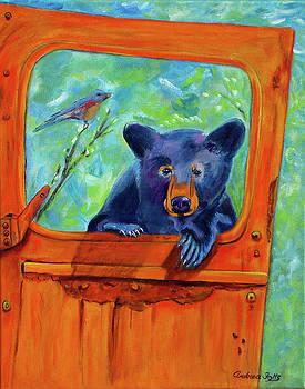 Blue Bird, Blue Bear by Andrea Folts
