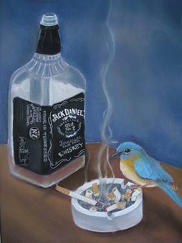 Blue Bird in My Heart by Candice Wright