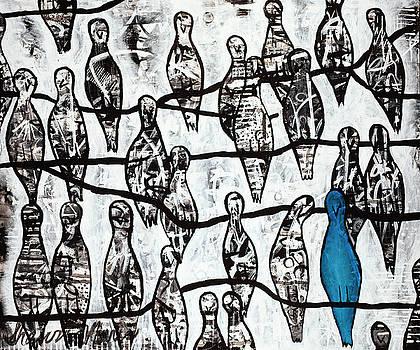 Blue Bird by Shawna Morris
