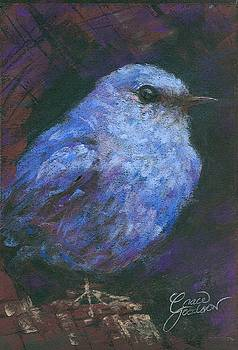 Blue Bluebird by Grace Goodson