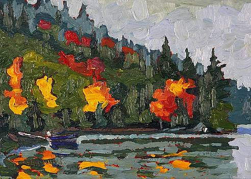 Phil Chadwick - Blue Boat Bay