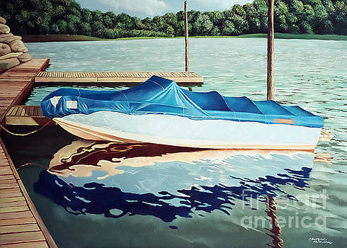 Christopher Shellhammer - Blue Boat