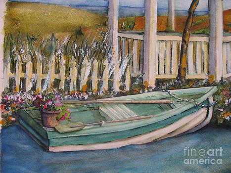 Blue Boat by Pamela Shearer