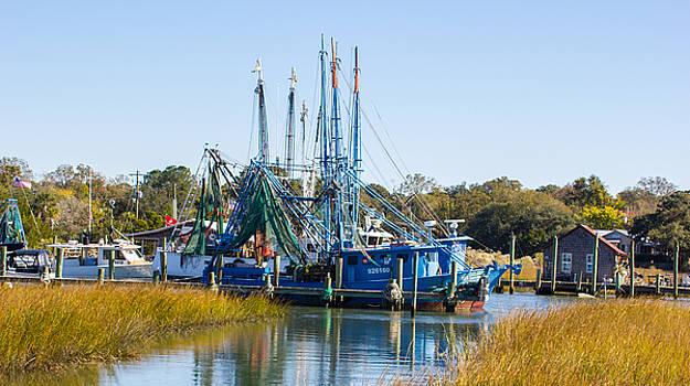 Blue Boats by BG Flanders