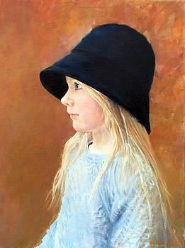 Blue Bonnet Girl by Glen Hacker