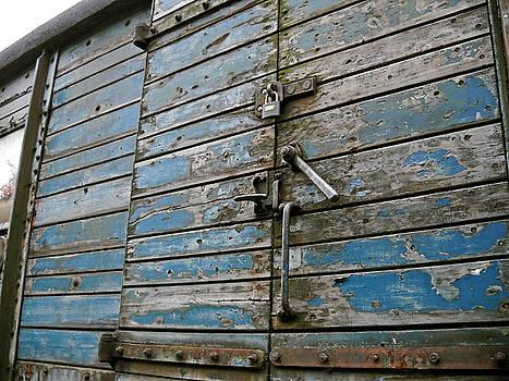 Blue Boxcar by Julia Raddatz