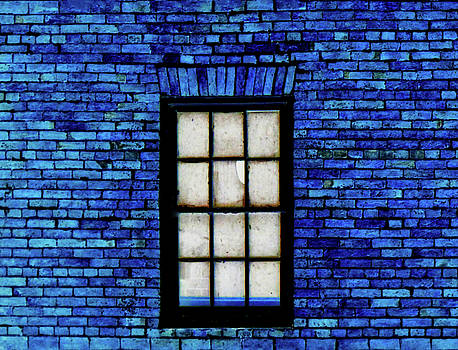 Blue Brick by Robert Geary