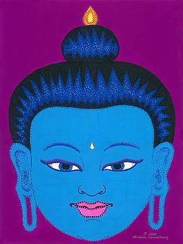 Blue Buddha by Michelle Darensbourg