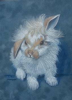 Blue Bunny by JoAnn Morgan Smith