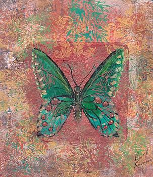 Blue Butterfly by Ruth Kamenev