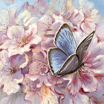 Silvia  Duran - Blue Butterfly