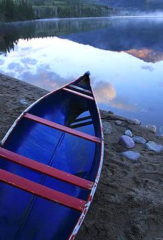 Blue Canoe by Catherine Alfidi