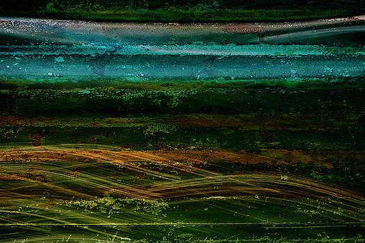 Blue Canoe by Christina VanGinkel